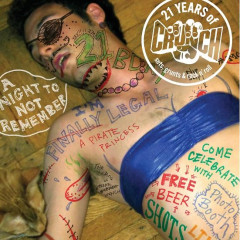 Today's Giveaway: Tickets To Crunch's 21st Birthday and a One Year Membership!