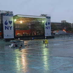 The Curse Of The Outdoor Concert In Summer 2010