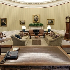 The Oval Office Gets A Face Lift