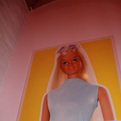 Barbie Hosts 'The Warholian' Opening