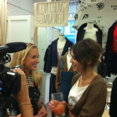 Inside Fashion Night's Out: Following Us Around As We Try To Make Sense Of FNO and Talk with Alexa Chung