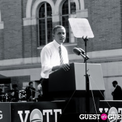 President Obama Rallies For Democrats At USC