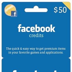 Department Of Time To Get A Life: Facebook Credits At Walmart
