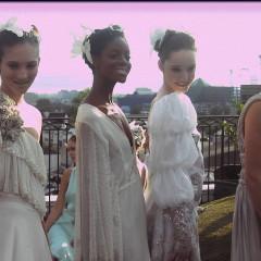 Julia Clancey's Rooftop Fashion Show