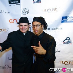 Bai Ling & Fashion Show Guests Steal The Catwalk's Spotlight At The Legion Of H.O.P.E. Gala