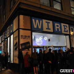 Geeking Out At The Wired Store Opening Night Party