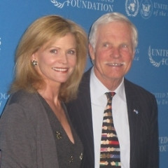 Ted Turner Schmoozes With John Kerry, Fights With Man About Wolves