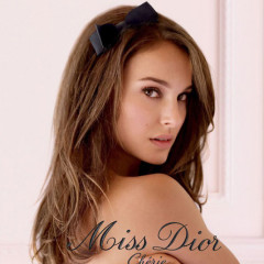 Natalie Portman's Topless Perfume Ad