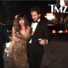 Watch The Tragedy Unfold: Paz De La Huerta Too Hammered For HBO's Golden Globe After Party