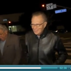 Larry King Holds Court At Trousdale