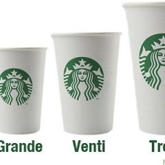 Trenta: The New Starbucks Size You've Been Waiting For