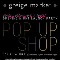 Join Us At The Greige Market Launch & After Party TONIGHT!