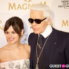 Karl Lagerfeld & Anna Wintour Come Out For Magnum Ice Cream. Huh?