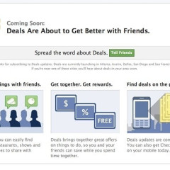 Move Over Groupon, Here Comes Facebook Deals