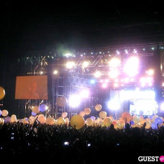 Photo Of The Day: Coachella Flashback Of The Arcade Fire Glowing Balls