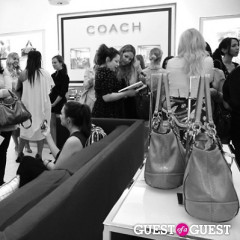 Coach Celebrates US Weekly's Sasha Charnin Morrison Style Book Launch