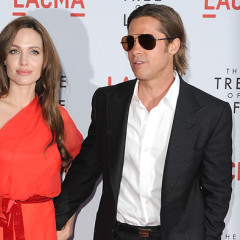 Brad Shaves, Angelina Scorches At