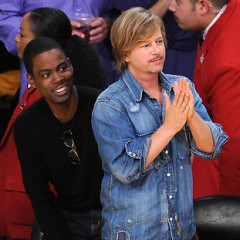 A History Of Celebrity Bromance At Lakers Games