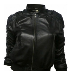 Today's Giveaway: A 100% Leather Jade Jacket From KRMA Clothing!