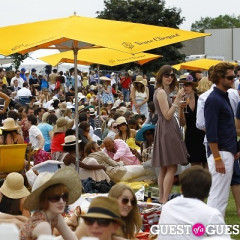 Champagne Flows At The Veuve Clicquot Polo Classic
