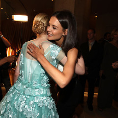 Last Night's Parties: Elle Fanning & Katie Holmes Share An Embrace, Rachel Zoe Gets Motherly With Baby On The Red Carpet