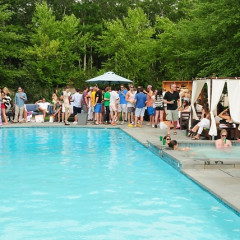 Lacoste And EMM Group Backyard BBQ In Sag Harbor