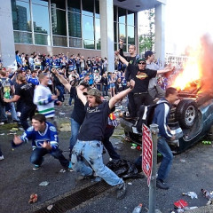 Breathtaking Vancouver Riot Photos Prove Canada Is Just As Dumb As America