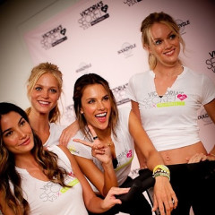 Victoria's Secret Angels Gear Up For A Supermodel Ride