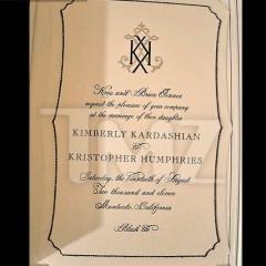 A Look At Kim Kardashian & Kristopher's Kwedding Kinvitation