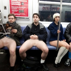 Getting Naked In The City...In Public, A Growing Trend