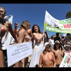 Mark Your Calendar For 'Go Topless Day' In Venice Next Month