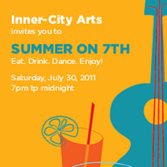 You're Invited: Support Inner-City Arts At Summer On 7th!