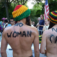 Nudity Trend Continues: The NYC Jamaica Underwear Run
