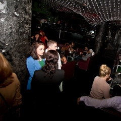 Guests Brave The Rain For GofG's Pop-Up Party At Greenhouse