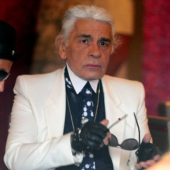A Rare Look Behind Karl Lagerfeld's Ever-Present, Signature Glasses