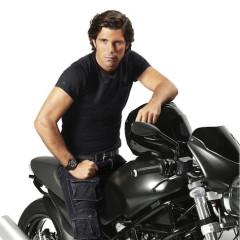 Nacho Figueras Rides The Big Black Ralph Lauren Bike