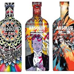 'Absolut Blank' Turns Booze Bottles Into Art