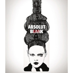Artist David Bray X Absolut Blank