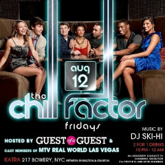 You're Invited: The GofG & Katra Pop-Up Party Tonight With The Cast Of MTV's Real World Vegas!