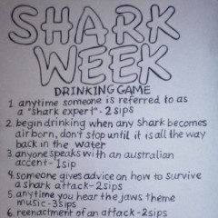 The Shark Week Drinking Game Is Here To Save Your Week