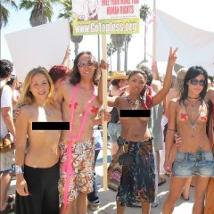 Summer Public Nudity Watch: Venice Celebrates Go Topless Day 2011