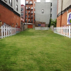 The Backyard Time Share: Would You Spend $50 For Green Space Between 2 Buildings?