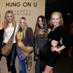 Theodora & Alexandra Richards, Simon Doonan, Rebecca Romijn Step Out For Barneys' Hung On U Launch