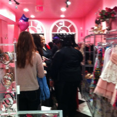 Betsey Johnson and Kiehl's FNO Candy Parties