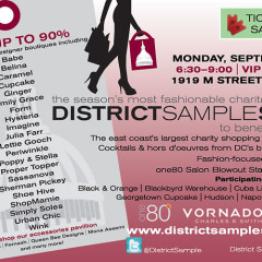 District Sample Sale Coming Up A Week From Monday!