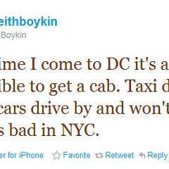 DC's Taxis: A Collective Rant