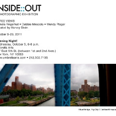 You're Invited: 'Inside::Out': A Photographic Exhibition!
