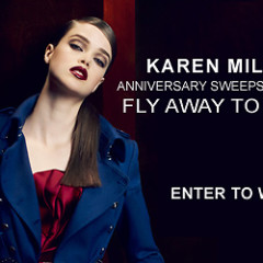 Today's Giveaway: A Trip For You And A Guest To LA To Celebrate Karen Millen's 30th Anniversary!