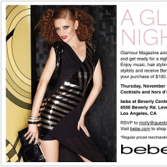 You're Invited: A Glam Night Out With Glamour Magazine & Bebe!
