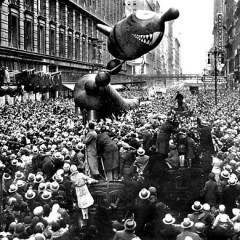 Vintage Photos: The Macy's Thanksgiving Day Parade